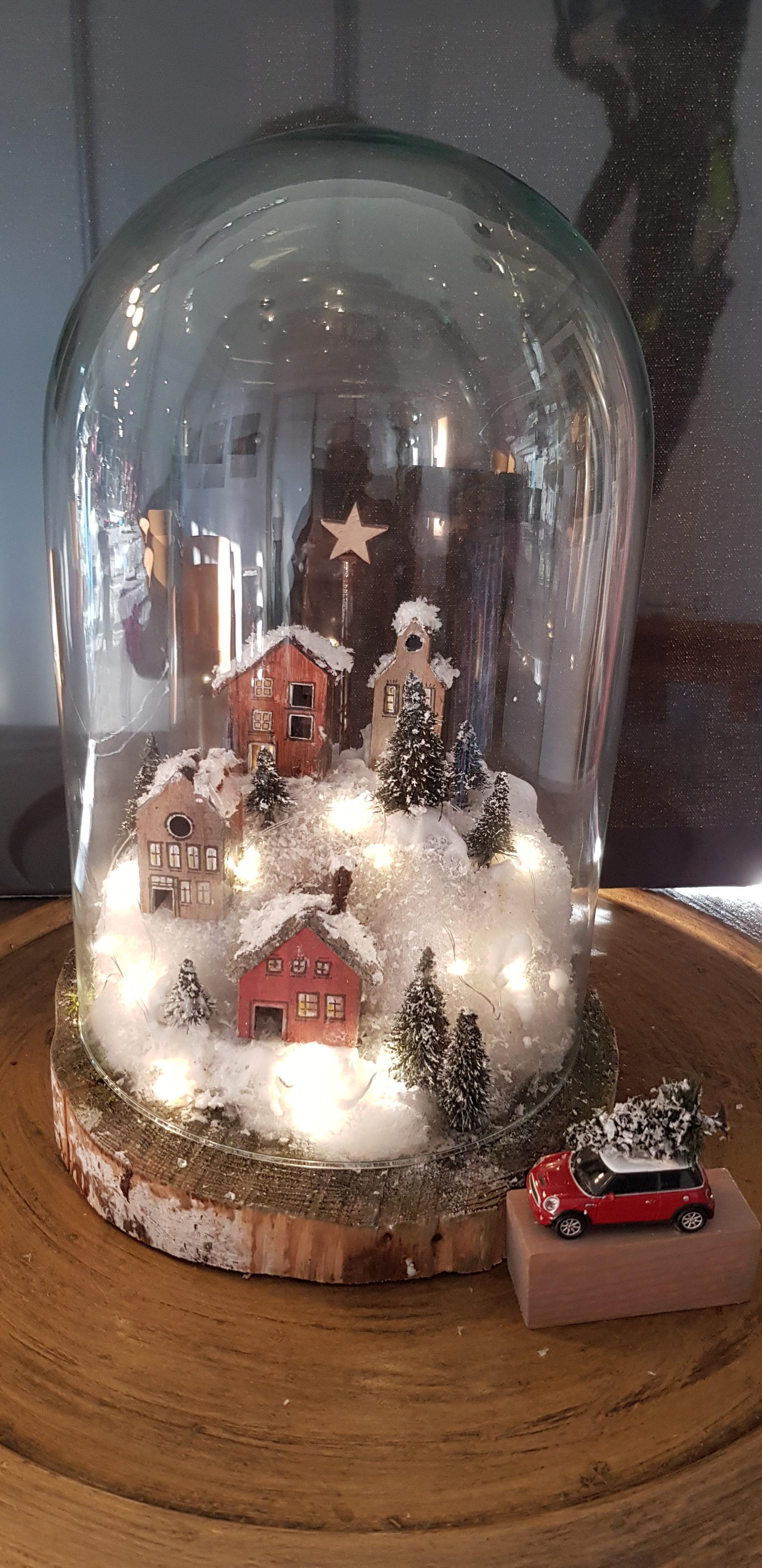 Ruckblick Auf Den Adventsworkshop Winterlandschaft Im November