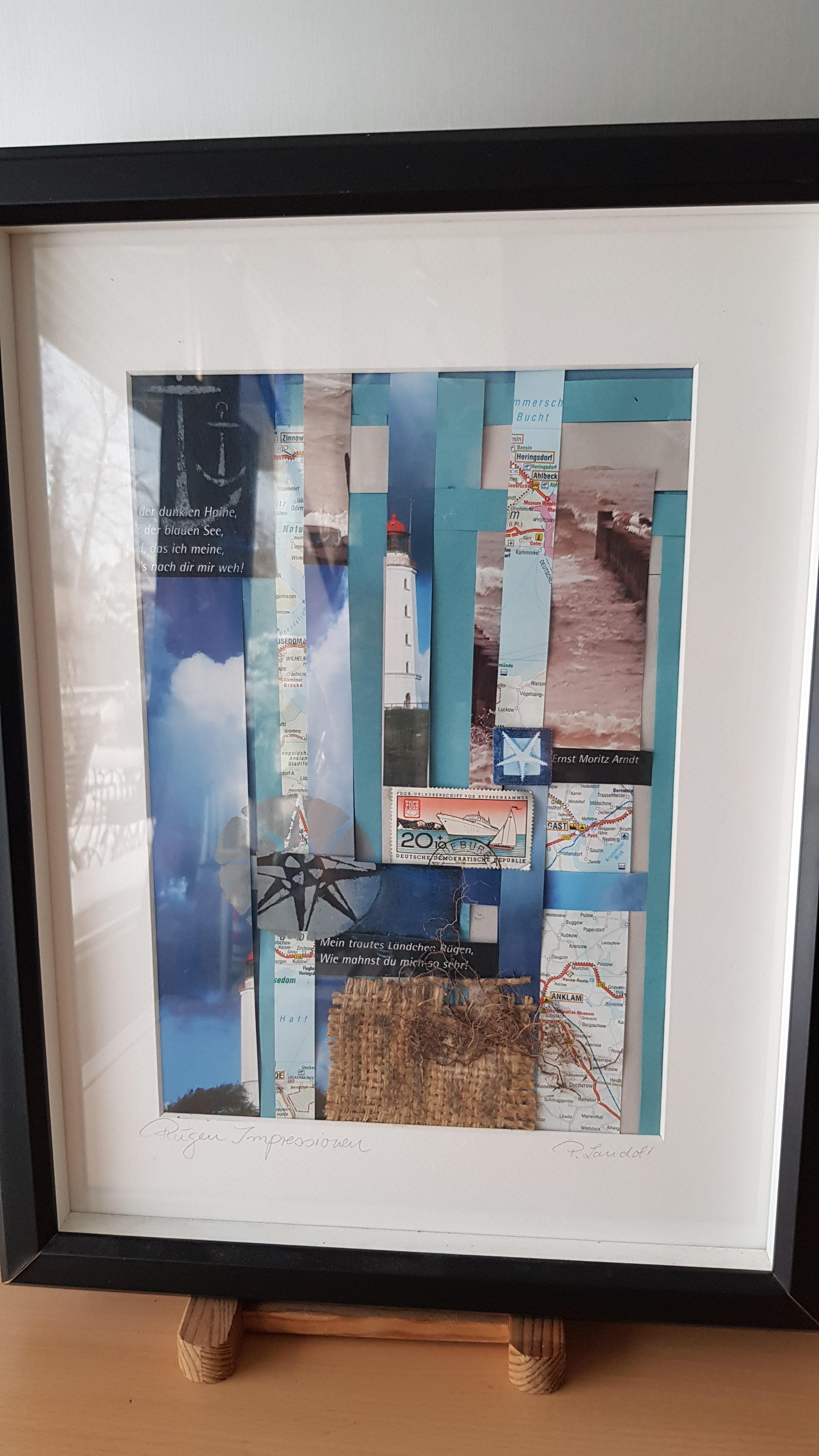 Außergewöhnlich Collage Basteln Das Beste Von