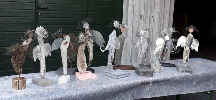 "Rückblick auf den Workshop ""Engelskulpturen"" im Oktober 2018"