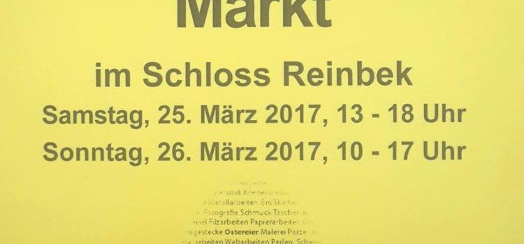 Österlicher Kunsthandwerkermarkt in Reinbek am 25. & 26. März 2017
