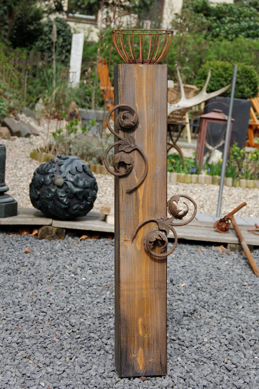Holz eisen deko workshop werkraum 107 for Deko aus eisen