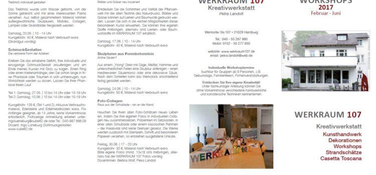 Das Kursprogramm 2017 (Januar bis Juni) ist da!